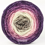 Knitcircus Yarns: Hopeless Romantic Panoramic Gradient, dyed to order yarn