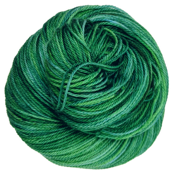 Knitcircus Yarns: Mister Grinch 100g Speckled Handpaint skein, Opulence, ready to ship yarn