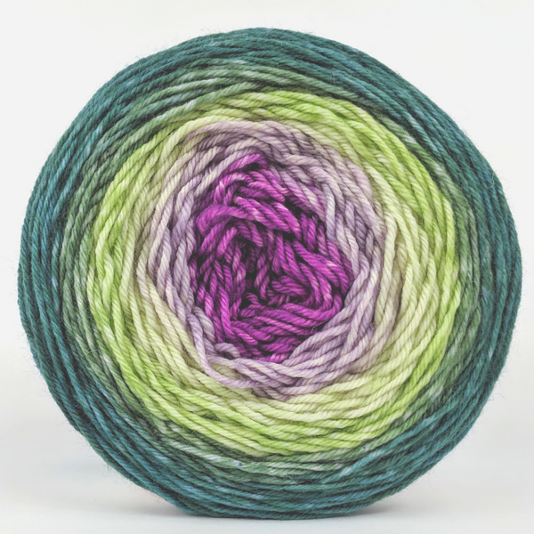 Knitcircus Yarns: Never Enough Knitting 150g Panoramic Gradient, Divine, ready to ship yarn