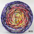Knitcircus Yarns: Ms. Frizzle 150g Impressionist Gradient, Ringmaster, choose your cake, ready to ship yarn