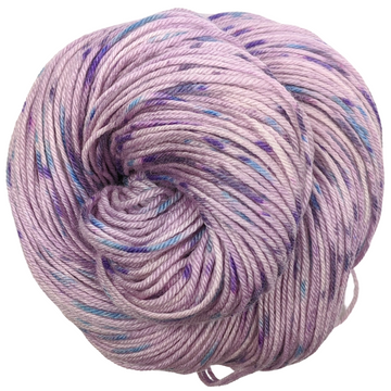 Knitcircus Yarns: The Knit Sky 100g Speckled Handpaint skein, Parasol, ready to ship yarn
