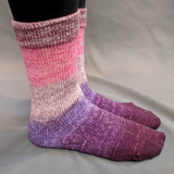 Fig and Prosciutto Panoramic Gradient Matching Socks Set, dyed to order