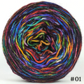 Knitcircus Yarns: Renegade Unicorn 100g Abstract, Breathtaking BFL, choose your cake, ready to ship yarn