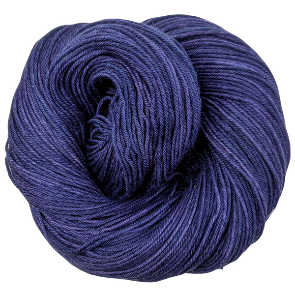 Knitcircus Yarns: Midnight Moon 100g Kettle-Dyed Semi-Solid skein, Greatest of Ease, ready to ship yarn