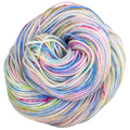 Knitcircus Yarns: Shabby Chic 100g Speckled Handpaint skein, Divine, ready to ship yarn