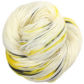 Knitcircus Yarns: Flight of the Bumblebee 100g Speckled Handpaint skein, Trampoline, ready to ship yarn