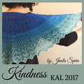 Kindness KAL Shawl Yarn Pack, pattern not included, ready to ship