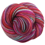 Knitcircus Yarns: Backyard Bouquet 100g Handpainted skein, Breathtaking BFL, ready to ship yarn - SALE