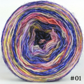 Knitcircus Yarns: Floating Lanterns 100g Modernist, Breathtaking BFL, choose your cake, ready to ship yarn - SALE