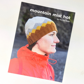 Pattern - Mountain Mist Hat, by Tin Can Knits, ready to ship
