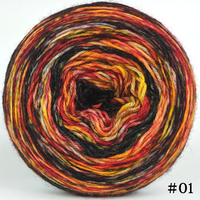 Knitcircus Yarns: Headless Horseman 100g Modernist, Breathtaking BFL, choose your cake, ready to ship yarn