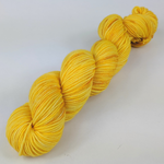 Knitcircus Yarns: Yellow Brick Road 50g Kettle-Dyed Semi-Solid skein, Trampoline, ready to ship yarn