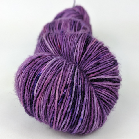 Incandescently Happy 100g Speckled Handpaint skein, Spectacular, ready to ship