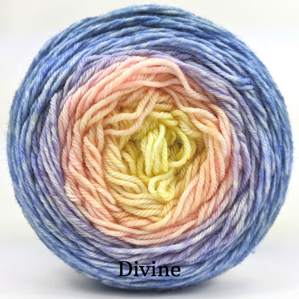 Knitcircus Yarns: Rise and Shine Panoramic Gradient, dyed to order yarn