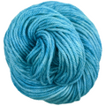 Knitcircus Yarns: Blue Agave 100g Kettle-Dyed Semi-Solid skein, Ringmaster, ready to ship yarn