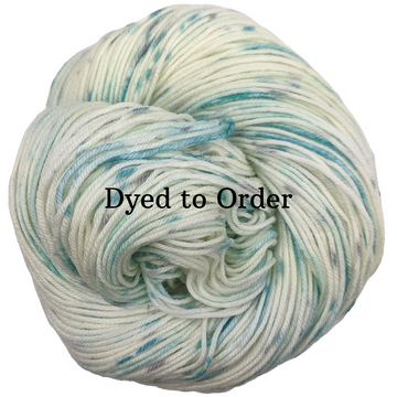 Knitcircus Yarns: Believe in Miracles Speckled Handpaint Skeins, dyed to order yarn