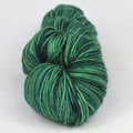 Knitcircus Yarns: Mister Grinch 100g Speckled Handpaint skein, Spectacular, ready to ship yarn