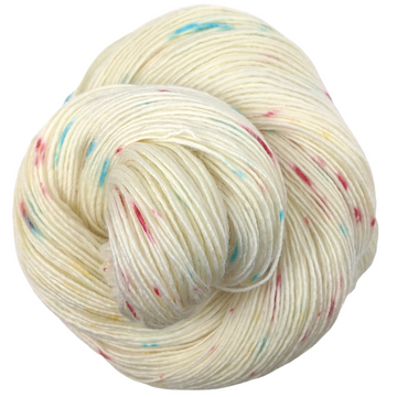 Knitcircus Yarns: Imaginary Best Friend 100g Speckled Handpaint skein, Spectacular, ready to ship yarn