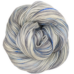 Knitcircus Yarns: Fishing in Quebec 100g Speckled Handpaint skein, Opulence, ready to ship yarn
