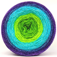 Knitcircus Yarns: Monstropolis Monster 300g Panoramic Gradient, Breathtaking BFL, ready to ship yarn