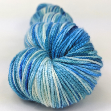 Knitcircus Yarns: Faraway Land 100g Speckled Handpaint skein, Parasol, ready to ship yarn