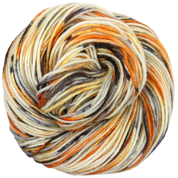 Knitcircus Yarns: Trick or Treat 100g Speckled Handpaint skein, Divine, ready to ship yarn