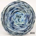 Knitcircus Yarns: Cumulonimbus 100g Impressionist Gradient, Divine, choose your cake, ready to ship yarn