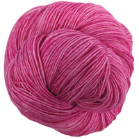 Knitcircus Yarns: Persist Pink 100g Kettle-Dyed Semi-Solid skein, Spectacular, ready to ship yarn