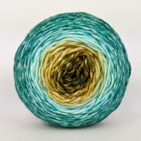 Knitcircus Yarns: Release the Kraken 50g Panoramic Gradient, Greatest of Ease, ready to ship yarn