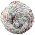 Knitcircus Yarns: Tis the Season 100g Speckled Handpaint skein, Greatest of Ease, ready to ship yarn