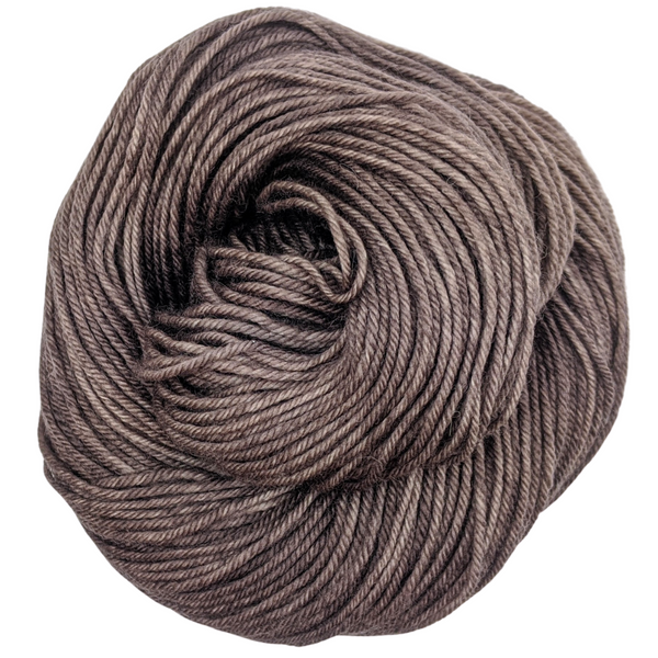 Knitcircus Yarns: R.O.U.S. 100g Kettle-Dyed Semi-Solid skein, Divine, ready to ship yarn