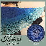 Kindness KAL Shawl Yarn Pack, pattern not included, dyed to order