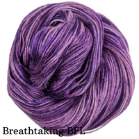 Knitcircus Yarns: Incandescently Happy Speckled Handpaint Skeins, dyed to order yarn