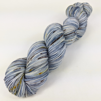 Knitcircus Yarns: The Beacons Are Lit Speckled Handpaint Skeins, dyed to order yarn