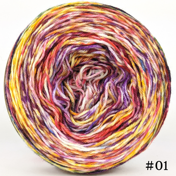 Knitcircus Yarns: Hello Jello 100g Modernist, Parasol, choose your cake, ready to ship yarn