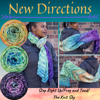 New Directions Scarf Yarn Pack, pattern not included, ready to ship