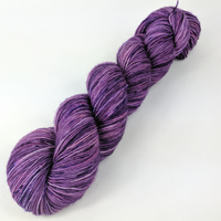 Knitcircus Yarns: Incandescently Happy 100g Speckled Handpaint skein, Spectacular, ready to ship yarn