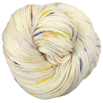 Knitcircus Yarns: Busy Bee 100g Speckled Handpaint skein, Greatest of Ease, ready to ship yarn