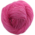 Knitcircus Yarns: Persist Pink 100g Kettle-Dyed Semi-Solid skein, Trampoline, ready to ship yarn