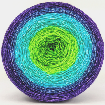 Knitcircus Yarns: Monstropolis Monster 300g Panoramic Gradient, Trampoline, ready to ship yarn