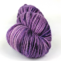 Knitcircus Yarns: Incandescently Happy 100g Speckled Handpaint skein, Breathtaking BFL, ready to ship yarn