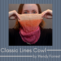 Classic Lines Cowl Yarn Pack, pattern not included, dyed to order