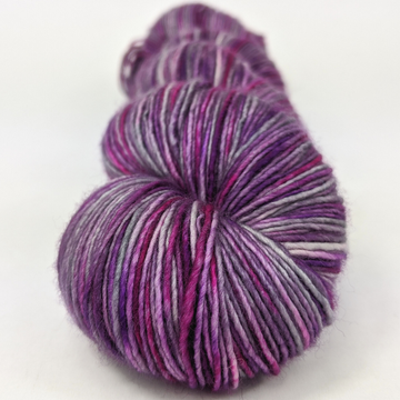 Knitcircus Yarns: The Violet Hour 100g Handpainted skein, Spectacular, ready to ship yarn
