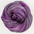 Knitcircus Yarns: The Violet Hour 100g Handpainted skein, Breathtaking BFL, ready to ship yarn