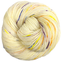Knitcircus Yarns: Busy Bee 100g Speckled Handpaint skein, Breathtaking BFL, ready to ship yarn