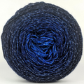 Knitcircus Yarns: Blue-nique 100g Chromatic Gradient, Sparkle, ready to ship yarn