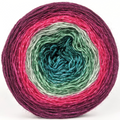 Knitcircus Yarns: Sleigh Ride 150g Panoramic Gradient, Breathtaking BFL, ready to ship yarn