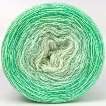 Knitcircus Yarns: Mint Condition 100g Chromatic Gradient, Breathtaking BFL, ready to ship yarn