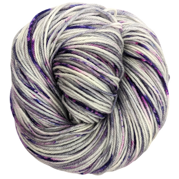 Knitcircus Yarns: Joie de Vivre 100g Speckled Handpaint skein, Divine, ready to ship yarn