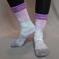 Knitcircus Yarns: Joie de Vivre Panoramic Gradient Matching Socks Set (large), Greatest of Ease, ready to ship yarn